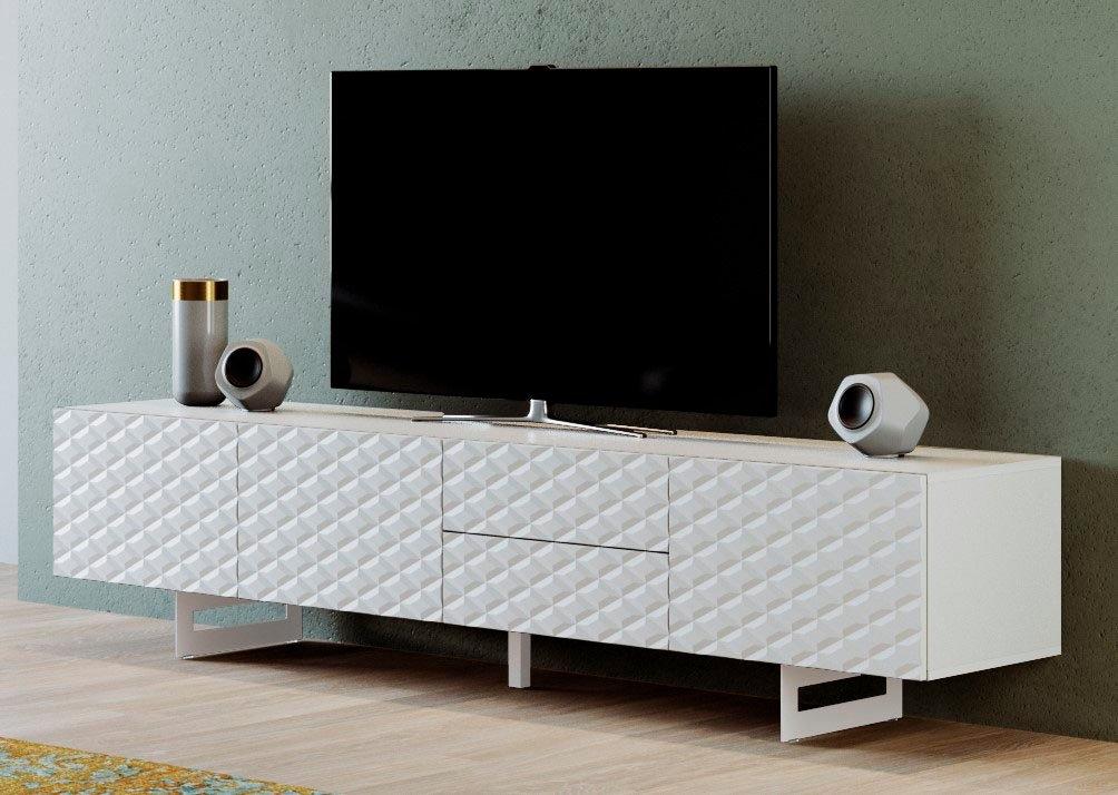 DIVENTA tv-meubel Corfu breedte 220 cm nu online kopen bij OTTO