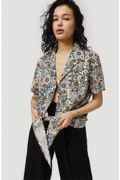 o'neill overhemd met korte mouwen »haupu beach« bruin