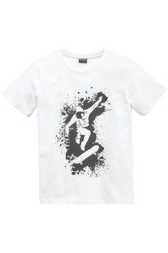 kidsworld t-shirt »skater« wit
