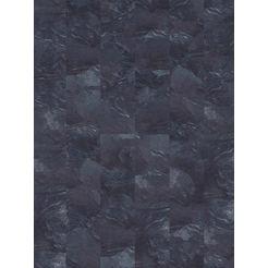 infloor tapijttegel »velour steinoptik schiefer grau«, zelfklevend 25 x 100 cm grijs