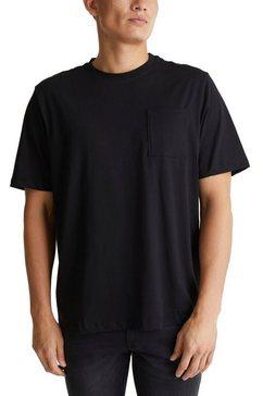 edc by esprit t-shirt zwart