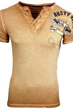 rusty neal t-shirt »a1-rn15046« oranje