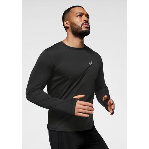 ASICS hardloop T-shirt zwart