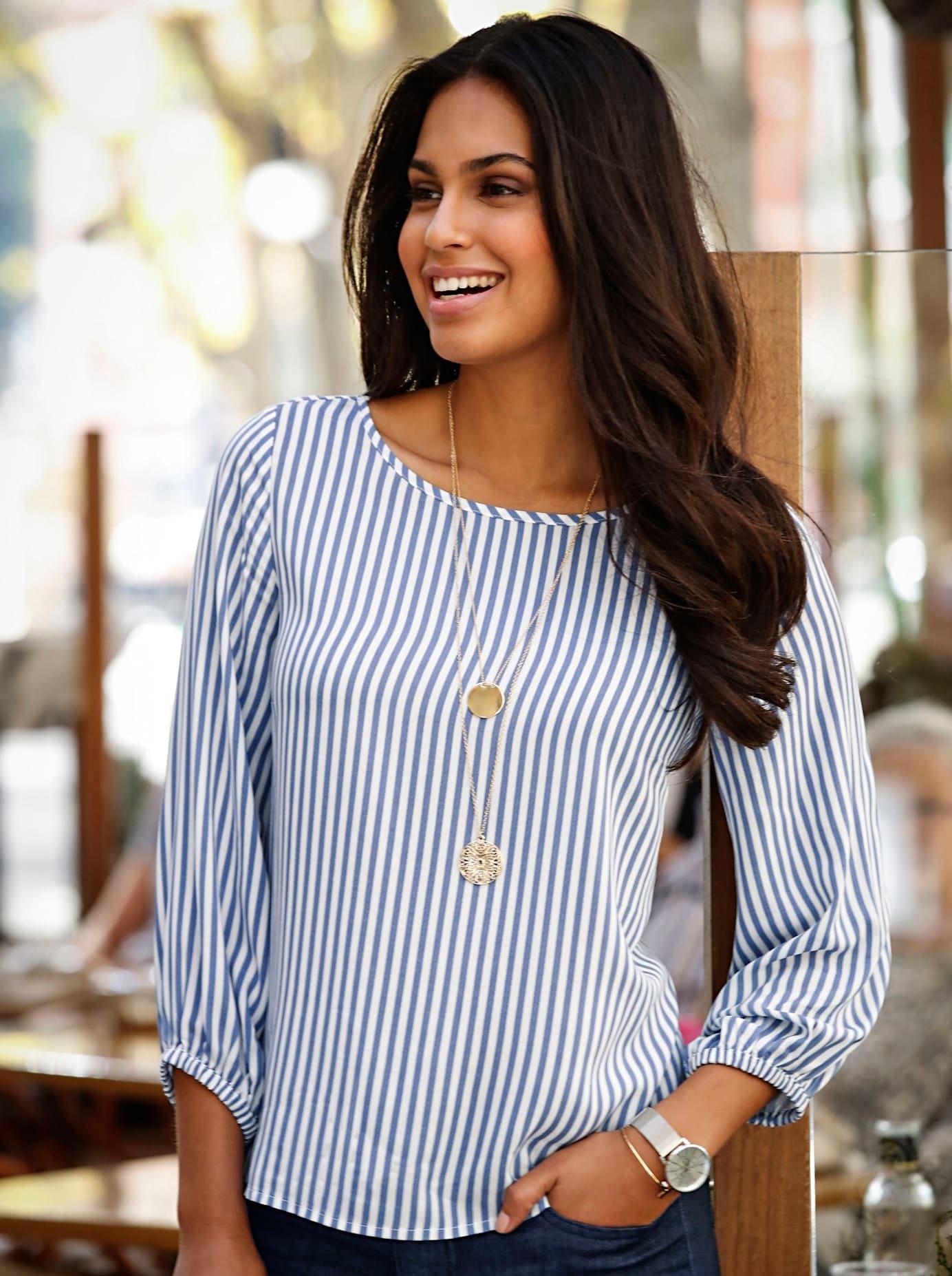 Op zoek naar een Classic Inspirationen blouse in een prettig lichte kwaliteit? Koop online bij OTTO