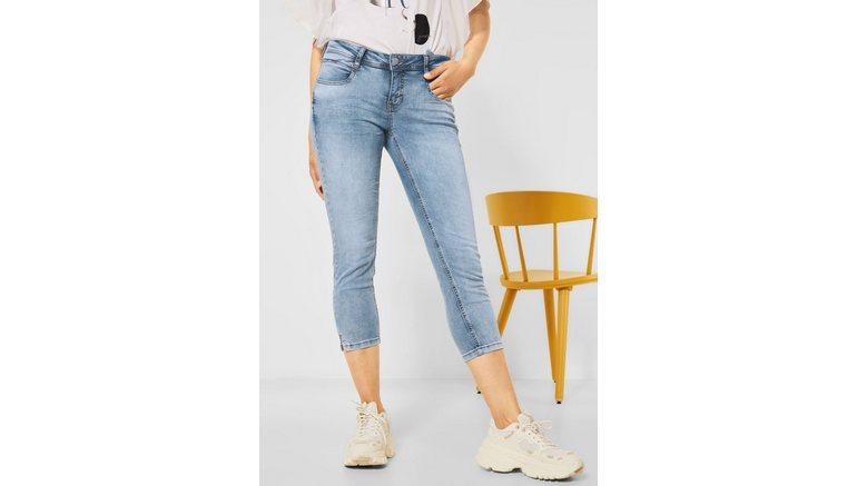 STREET ONE 7/8 jeans 4-pocketsstijl