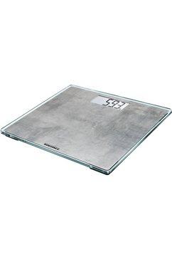 soehnle »style sense compact 300 concrete« personenweegschaal grijs