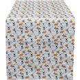 hossner - homecollection tafelloper 32657 rabbits (1 stuk) wit