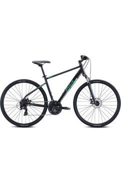 fuji bikes fitnessfiets traverse 1.7 zwart