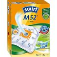 swirl stofzak m 52 (set, 5 stuks) wit