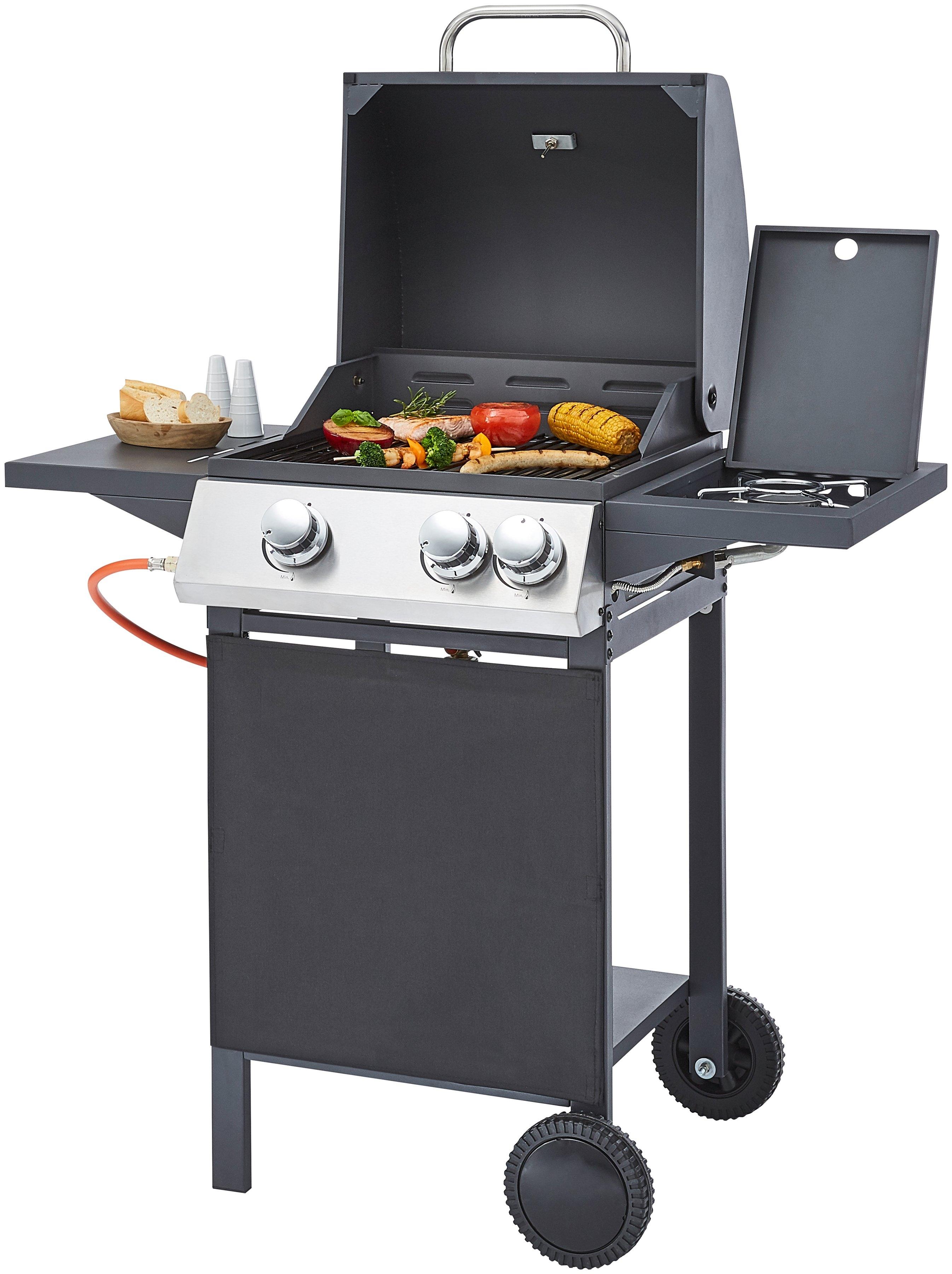 KONIFERA gasbarbecue bxdxh: 97x57x101 cm nu online kopen bij OTTO