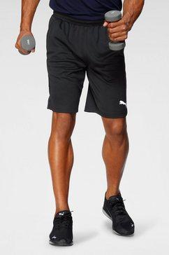 "puma trainingsshort »rtg interlock shorts 10""« zwart"