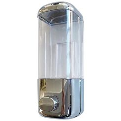adob zeepdispenser voor vloeibare zeep, shampoo, douchegel of lotion wit
