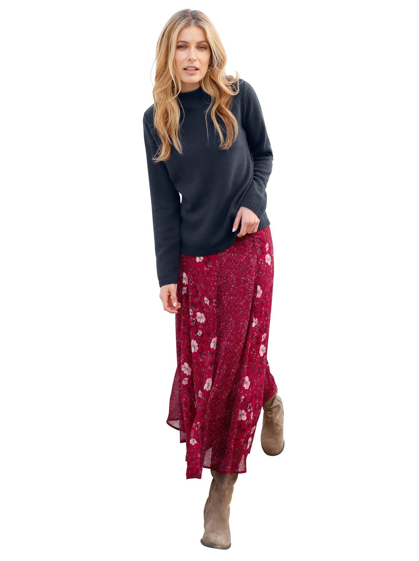 Classic Inspirationen trui met brede staande kraag bij OTTO online kopen