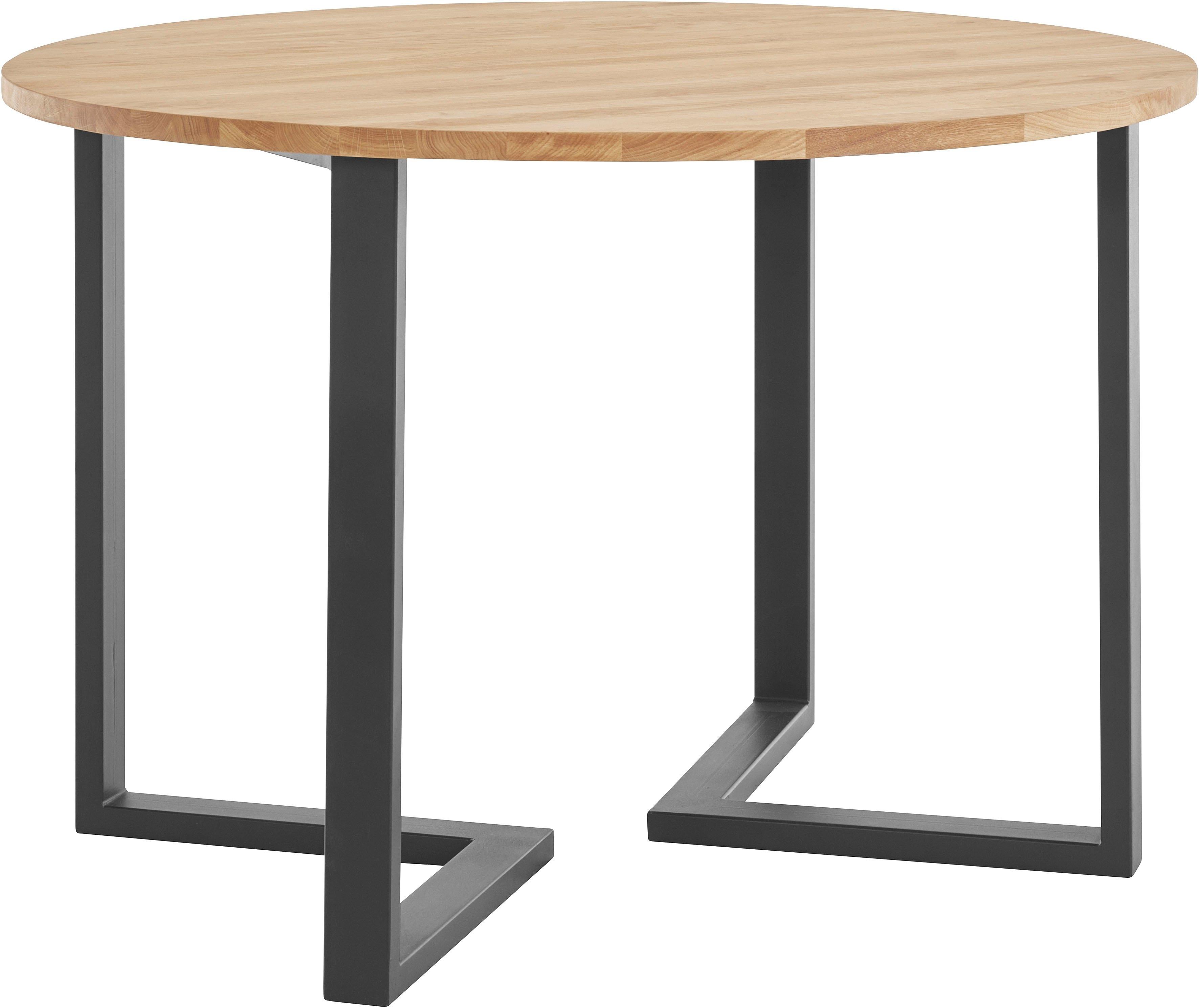 andas eettafel KRUM van massief hout goedkoop op otto.nl kopen