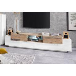 tecnos tv-meubel »coro« wit