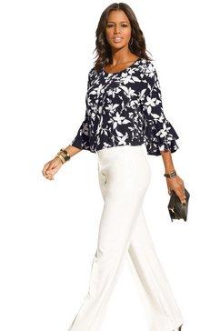 alessa w. blouse in prettig comfortmodel zwart