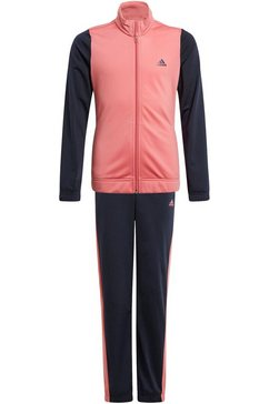 adidas performance trainingspak »girls training tracksuit« blauw