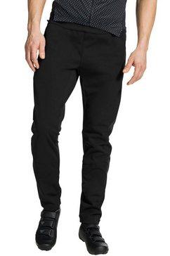 vaude softshell-broek »wintry« zwart
