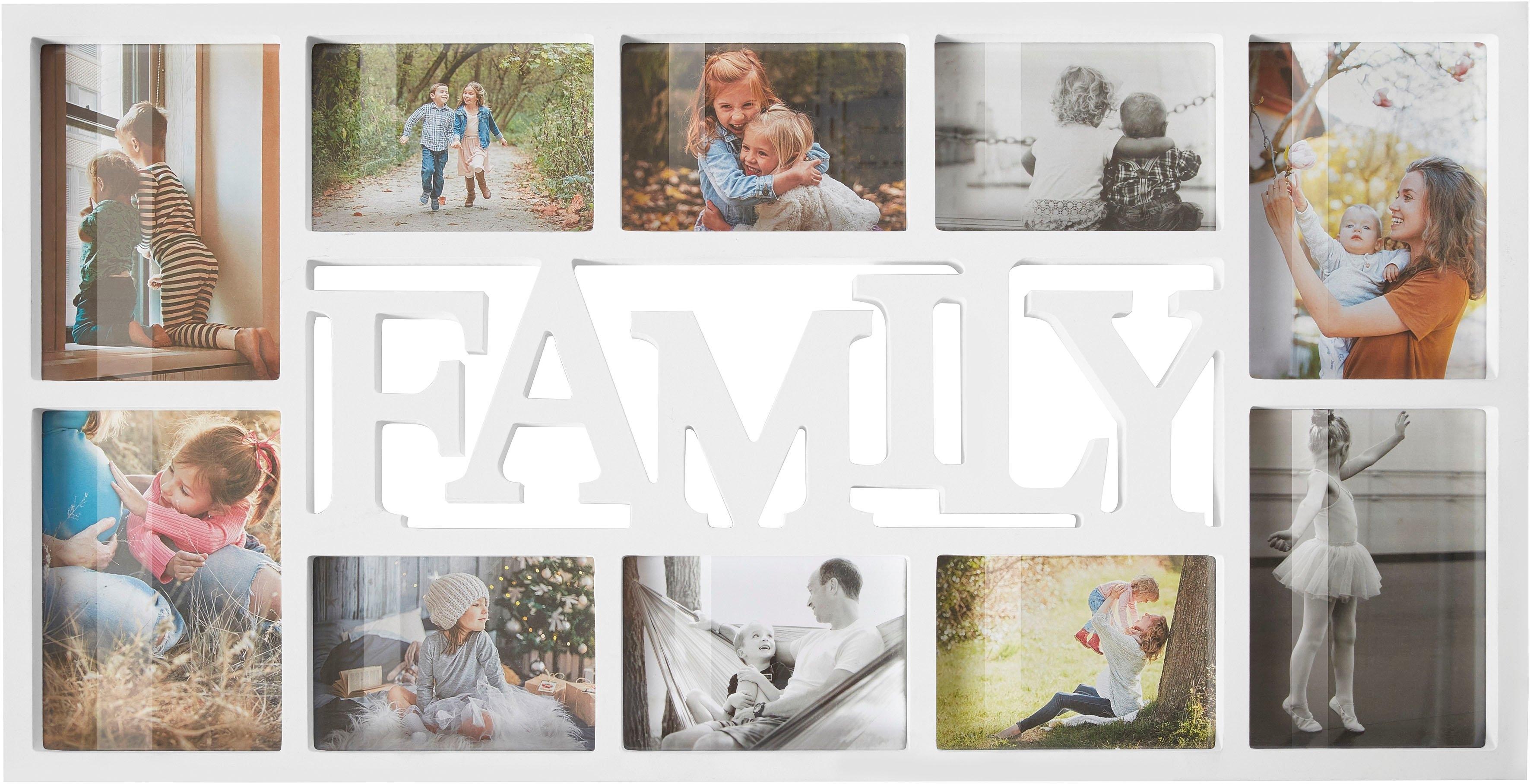 Home affaire Fotolijstcollage Familie bestellen: 30 dagen bedenktijd