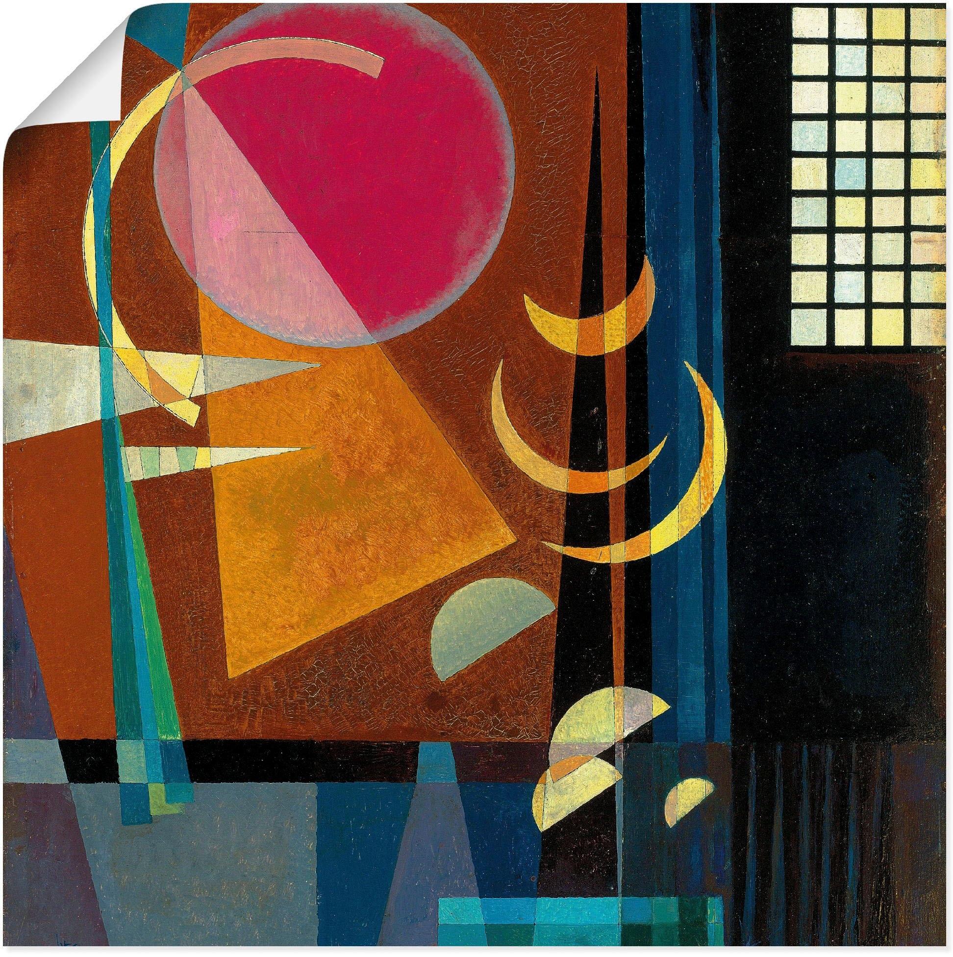 Artland artprint Scherp-rustig. 1927 in vele afmetingen & productsoorten -artprint op linnen, poster, muursticker / wandfolie ook geschikt voor de badkamer (1 stuk) voordelig en veilig online kopen