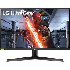 lg »27gn600« gaming-ledscherm zwart