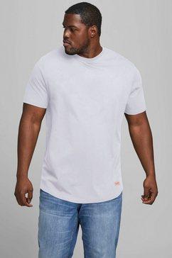 jack  jones t-shirt noa tee t-m maat 6xl wit