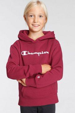 champion hoodie hooded sweatshirt rood