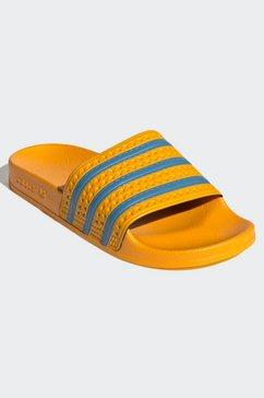 adidas originals badslippers »adilette« geel
