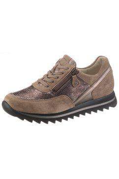 waldlaeufer sneakers met sleehak haiba in comfortabele schoenwijdte h (=zeer wijd) bruin
