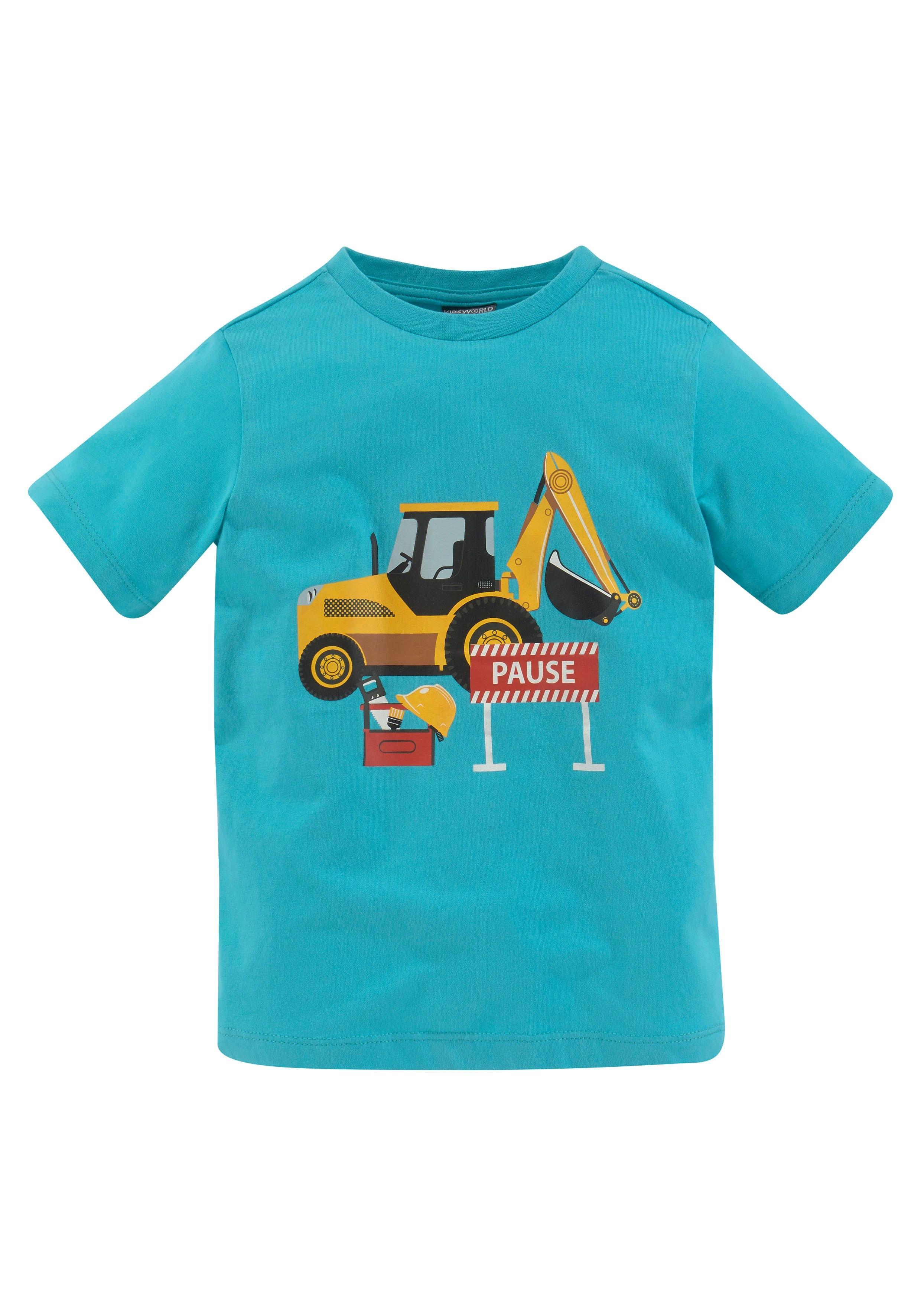 KIDSWORLD T-shirt Graafmachine - verschillende betaalmethodes