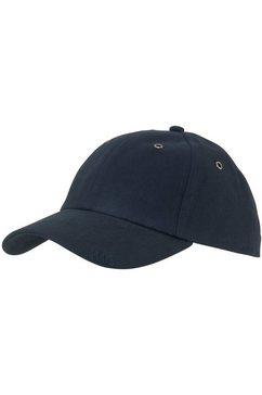 h.i.s baseballcap met klein vlaglabel achter blauw