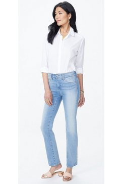 nydj marilyn straight »in premium denim« blauw