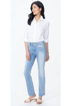 nydj straight jeans van premium-denim marilyn straight blauw