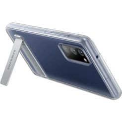 samsung »clear standing cover ef-jg780 fuer das galaxy s20 fe« smartphone-hoes wit