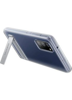 samsung smartphone-hoes clear standing cover ef-jg780 voor galaxy s20 fe wit