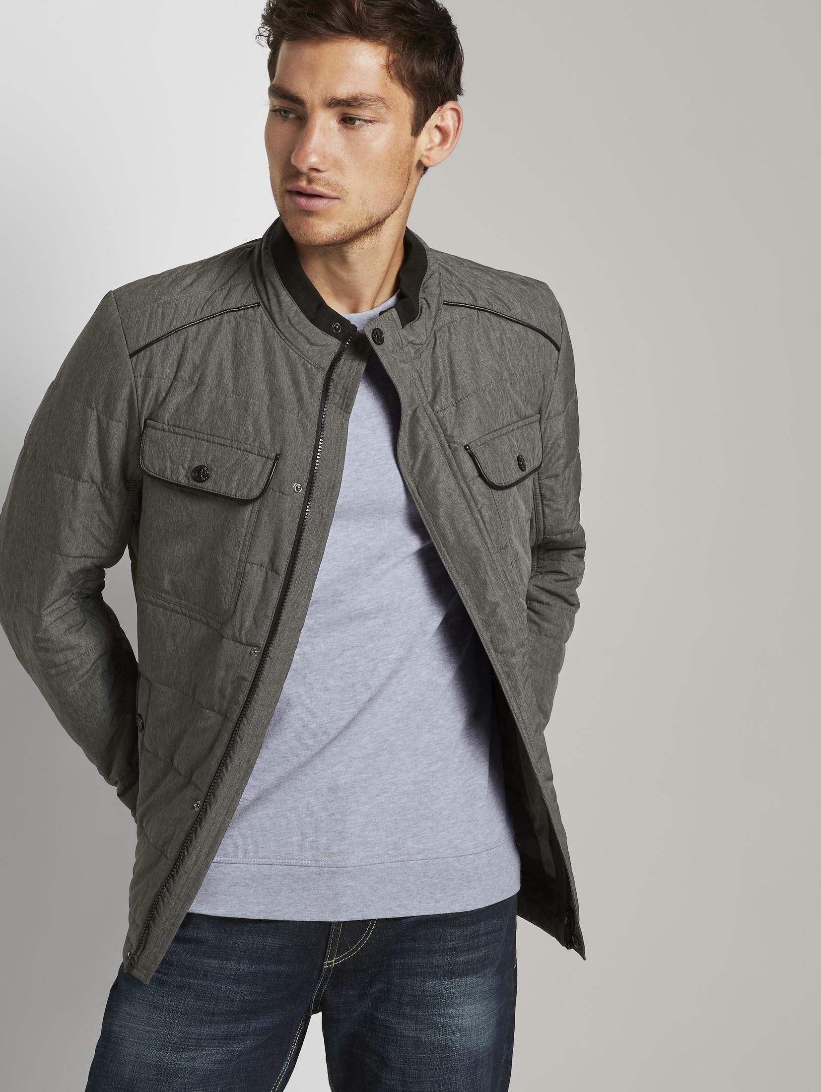 Tom Tailor winterjack »Gesteppte Hemdjacke« nu online kopen bij OTTO