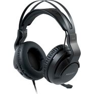 roccat gaming-headset elo x stereo - gaming-headset voor pc, mac, xbox, playstation  mobiele apparaten zwart