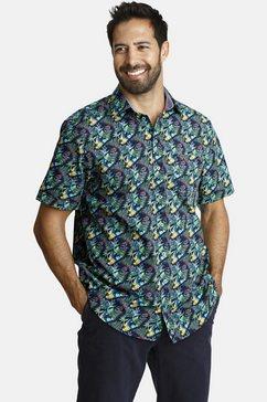 jan vanderstorm overhemd met korte mouwen »tycho« multicolor