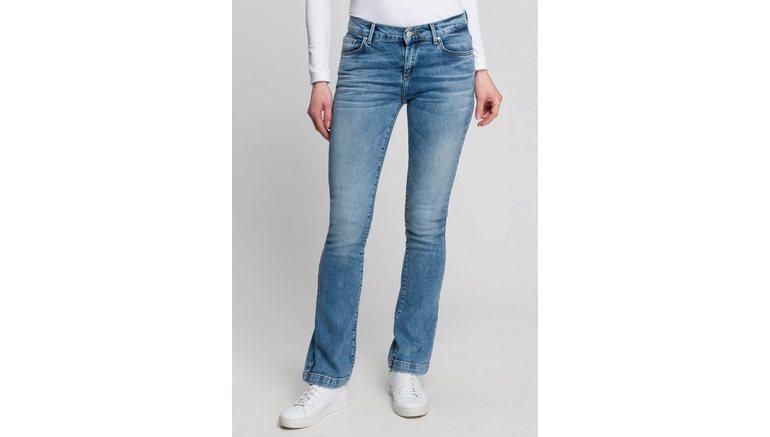 LTB bootcut jeans FALLON met wijd uitlopende pijpen