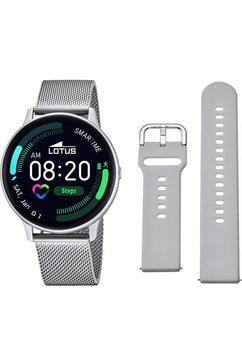 lotus smartwatch smartime, 50014-1 smartwatch (rtos) zilver
