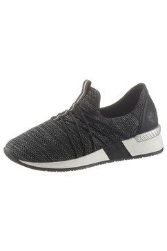 rieker slip-on sneakers zwart