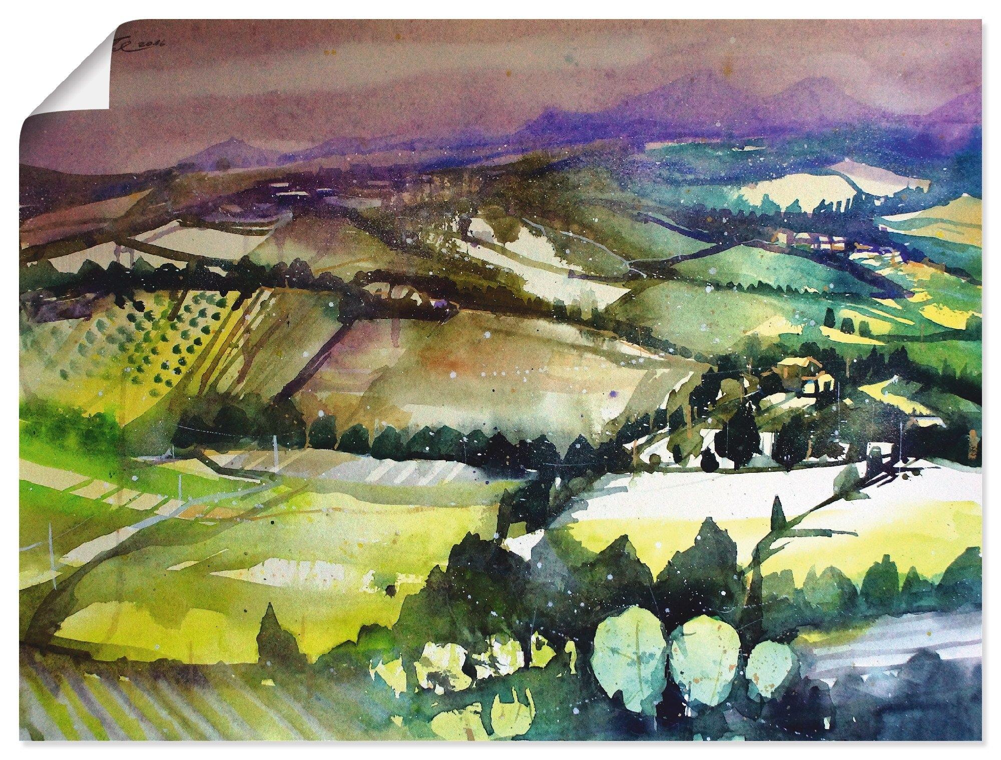 Op zoek naar een Artland artprint Emilia Romagna, landschap bij Cesena in vele afmetingen & productsoorten - artprint van aluminium / artprint voor buiten, artprint op linnen, poster, muursticker / wandfolie ook geschikt voor de badkamer (1 stuk)? Koop online bij OTTO