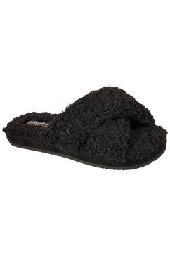 skechers slippers cozy slide veganistische verwerking zwart