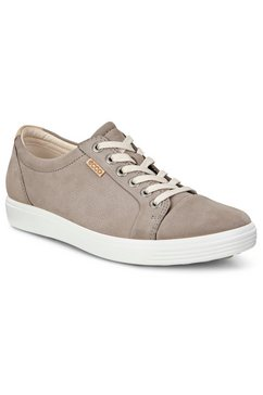 ecco sneakers soft 7 in sportieve look grijs