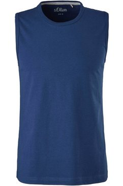 s.oliver muscle-shirt blauw