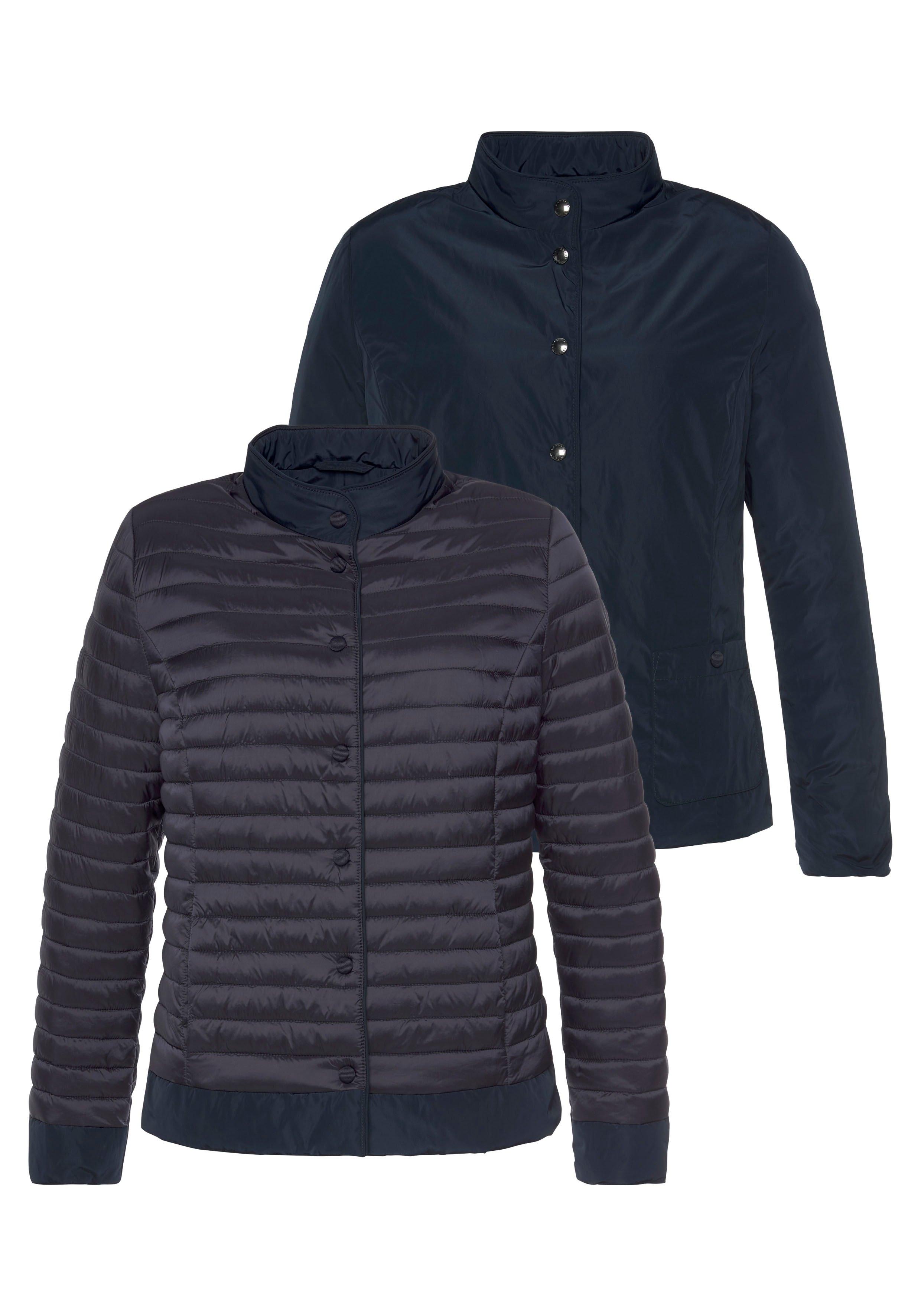 Barbara Lebek Gewatteerde jas aan beide kanten te dragen- een kant doorgestikt, andere in gladde look veilig op otto.nl kopen