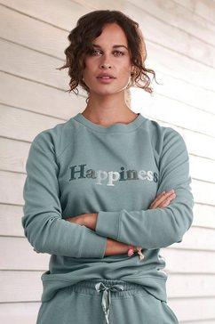 h.i.s sweatshirt groen