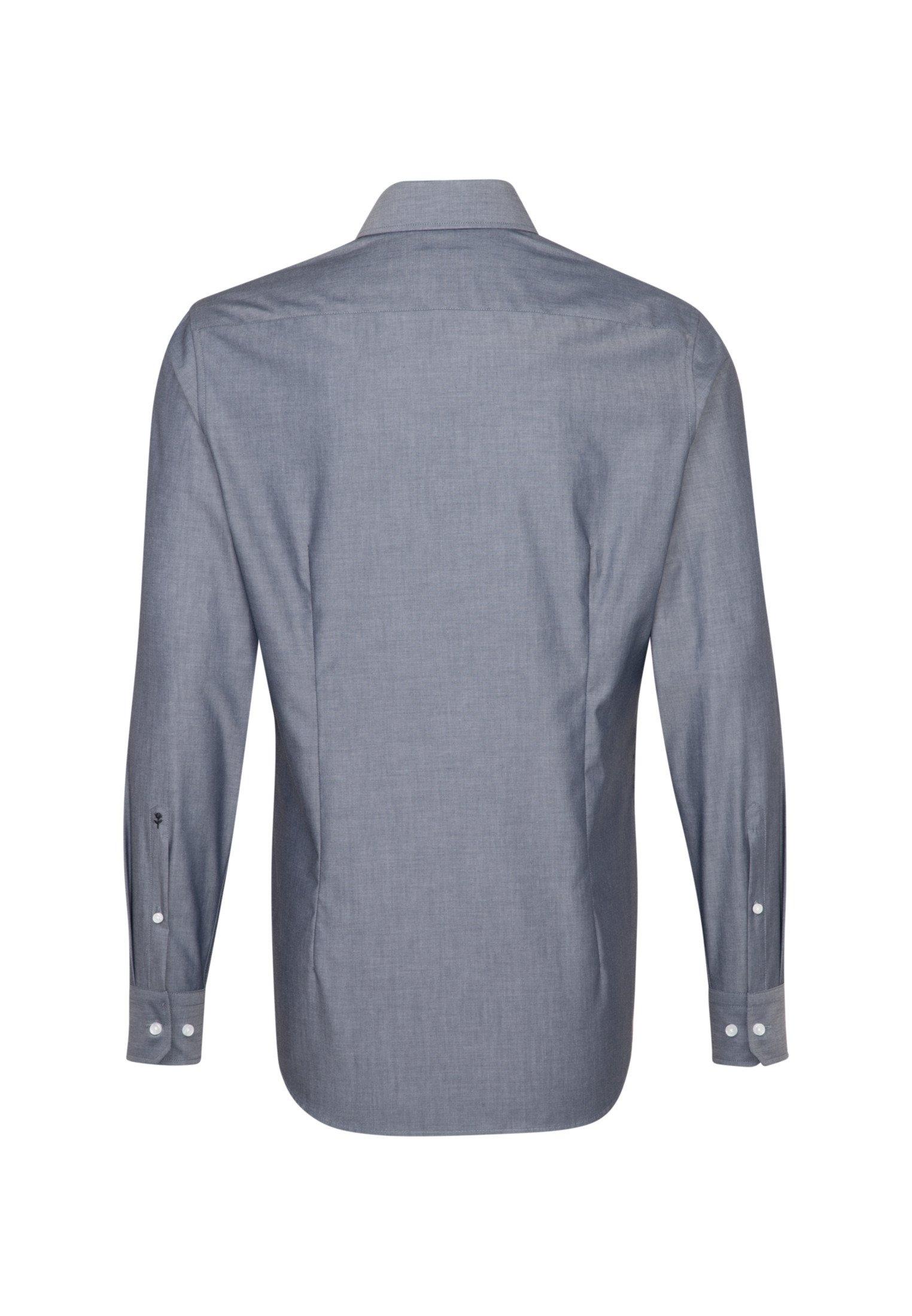 seidensticker businessoverhemd SLIM Slim lange mouwen kentkraag uni bij OTTO online kopen