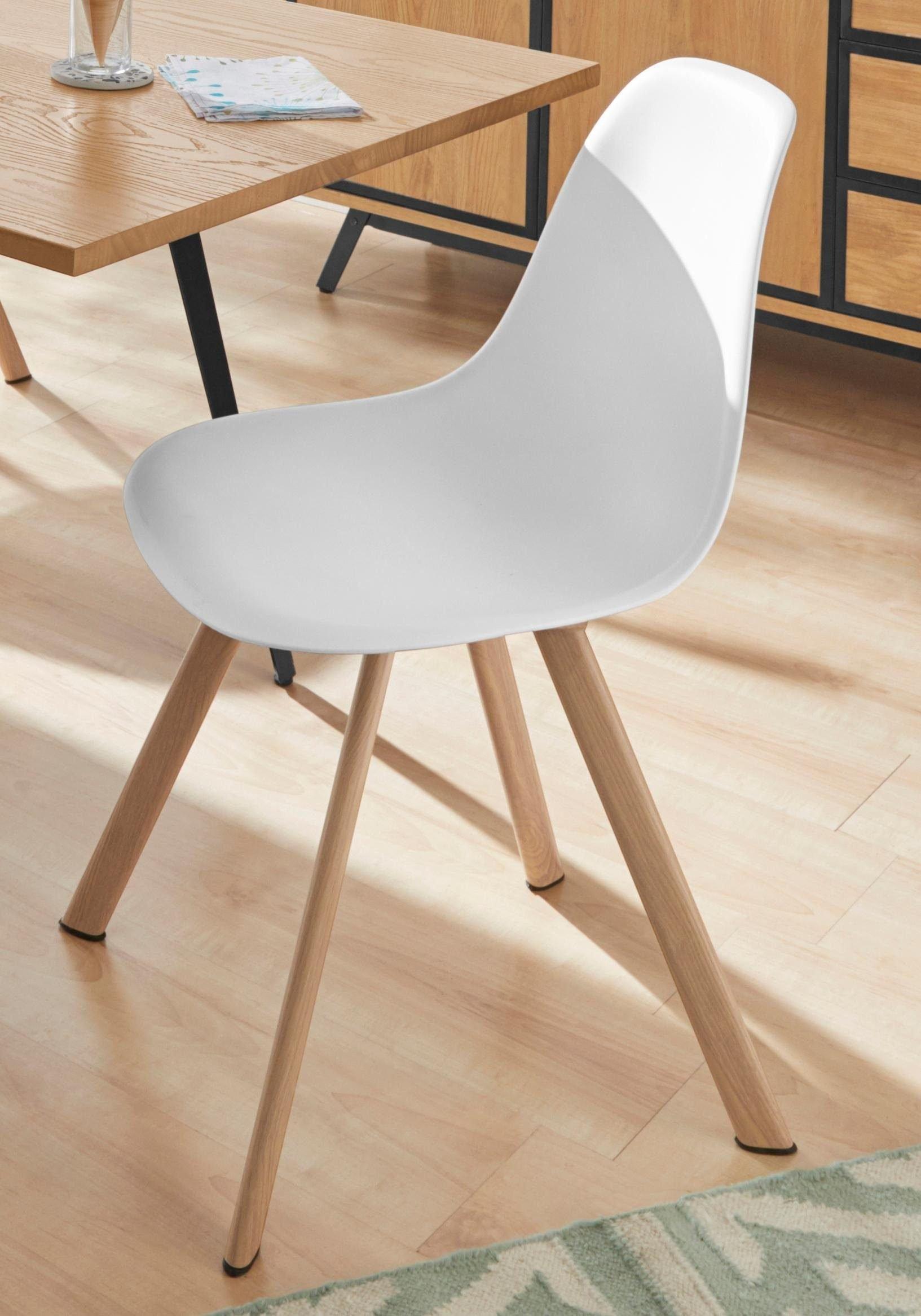 INOSIGN stoel Veneto Poten zijn in eiken-look, te bestellen in verschillende kleuren (set, 2 stuks) veilig op otto.nl kopen