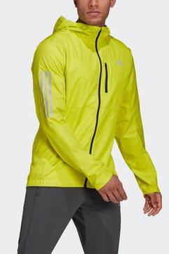 adidas performance runningjack »own the run jkt« geel